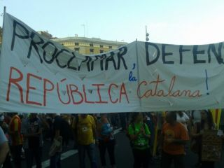 Catalan National Day march