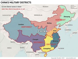 China's Military Districts