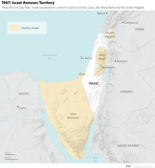 Israel-Palestine After the Six-Day War