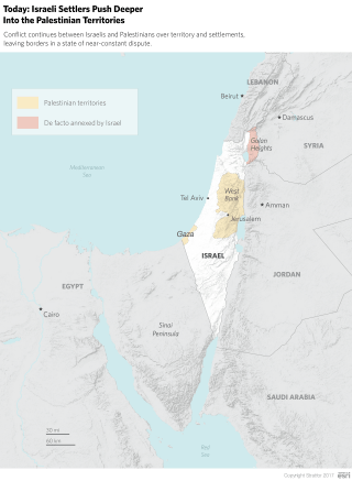 Today: Israeli Settlers Push Deeper Into the Palestinian Territories