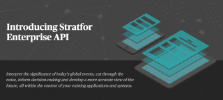 Introducing the Stratfor Enterprise API