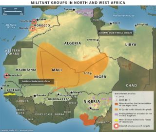 Rebel Groups in North Africa and West Africa