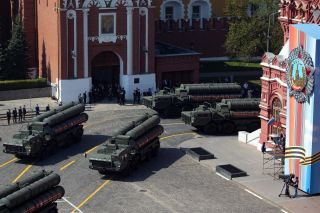 A notorious military export product of Russia, the S-400 air defense system (pictured in Red Square, Moscow) has grabbed headlines over its deployment to Syria and sales to China, India and Turkey.