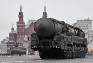 The Yars RS-24 (pictured on Red Square) is an improved variant of the Topol-M, one of the most capable intercontinental ballistic missile classes in the Russian Strategic Missile Forces.