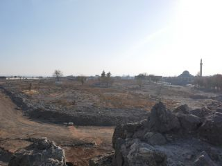 Authorities are now constructing new developments on the barren territory of Sur.