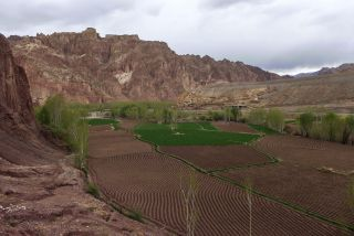 A view of the rural hinterlands that define much of Afghanistan's territory.