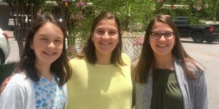 Stratfor LASA Interns Abigail, Melina and Sophia