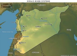 The rivers of Syria
