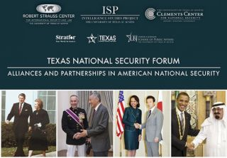 Texas National Security Forum flyer