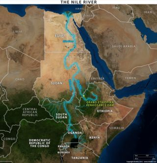 The Nile River Basin and the Grand Ethiopian Renaissance Dam Project
