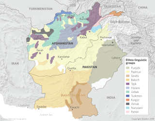 Ethno-linguistic groups in Afghanistan and Pakistan