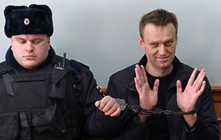 The Kremlin critic was sentenced on March 27 to 15 days in prison for resisting police during the anti-corruption rally.