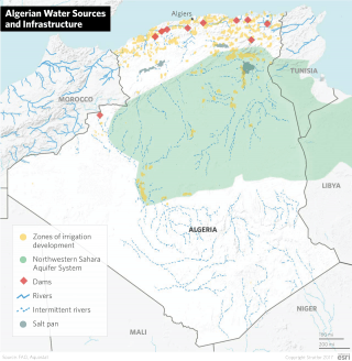 Algerian Water Sources and Infrastructure