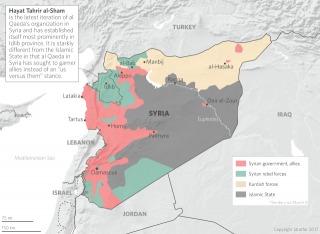 Hayat Tahrir al-Sham is the latest iteration of al Qaeda's organization in Syria and has established itself most prominently in Idlib province.