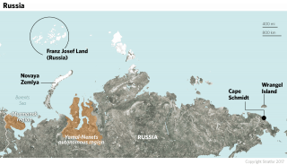 According to the Russian Ministry of Defense, Soviet-era bases in the Arctic are being reactivated in response to NATO's renewed interest in the region. The airstrip on the archipelago of Novaya Zemlya is being renovated.