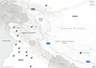 Aksai Chin Map