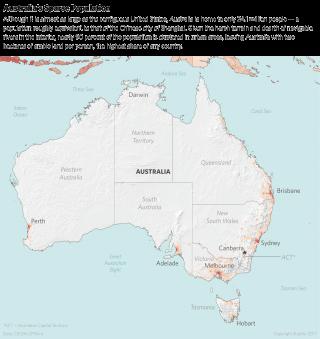 Australia's Sparse Population
