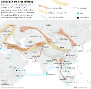 OBOR Map