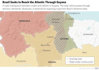 Brazil Seeks to Reach the Atlantic Through Guyana