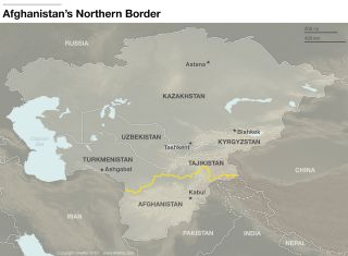 Uzbekistan and Afghanistan share a border