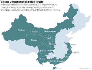 Domestic OBOR Projects in China
