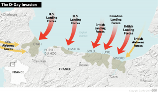 On June 6, 1944, Allied forces from the United States, United Kingdom and Canada launched the largest seaborne invasion in history by landing nearly 160,000 troops on the beaches of Normandy in a single day. This opened the long-awaited second front in the war against Nazi Germany.