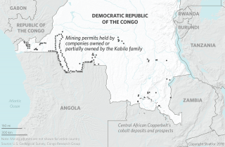 Central African Copperbelt's Cobalt Deposits and Prospects