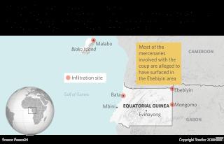Equatorial Guinea: December 2017 coup attempt