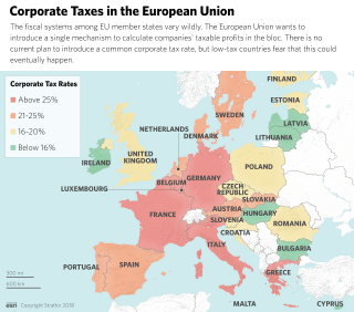 Corporate taxes in the European Union