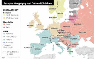 Europe has spent two millennia not only indulging in massive and constant internal wars. Over the centuries, great empires have risen and fallen, leaving behind distinct groups of people with different histories, languages and cultures.