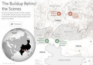 China, India and the Doklam Plateau: The buildup behind the scenes