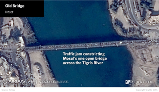 Severing the bridges without destroying them would make them easier to repair for civilian use after the battle, easing Iraqi concerns about adding to the considerable destruction of infrastructure already inflicted on the city. Notably, the city's venerable iron Old Bridge has been left intact.
