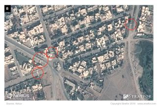 The Islamic State has fashioned ready-made barriers that are currently lining both sides of the roads that are still open, and they could easily tip them into the streets once the battle draws near.