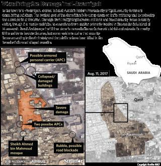 Visualizing the Damage in al-Awamiyah