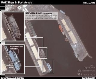 Emirati Ships in Eritrea Port