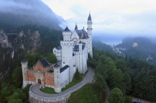 """Neuschwanstein Castle, built by Bavaria's """"Mad King Ludwig,"""" is among the region's biggest tourist attractions and major landmarks."""
