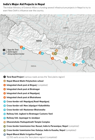 India's Major Aid Projects in Nepal