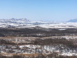 A view of the Kaesong Industrial Complex in North Korea from the South Korean side.