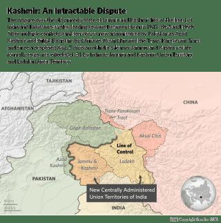 A Map of Kashmir