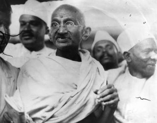 Mohandas K. Gandhi rejected the materialism of the West because he saw it as decadent.