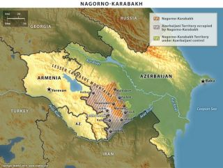 The Struggle for Control of Nagorno-Karabakh and Surrounding Areas