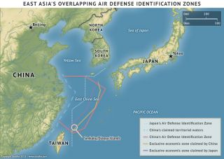 Air Defense Identification Zones in the East China Sea