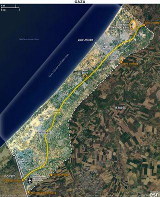 Israeli Offensive in the Gaza Strip