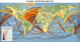Global Shipping Routes