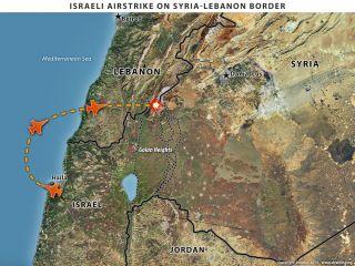 Israel Bombs a Syrian Convoy