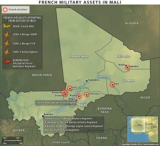 Forces Mobilize in the Mali Offensive
