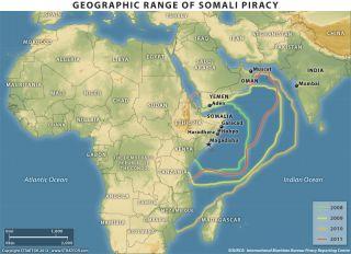 Somali Pirate Activity, 2008-2011