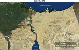 Egypt Plans to Double Suez Canal Capacity
