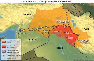 Kurdish Rebels in Syria
