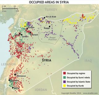 Competing Groups Vie for Syria